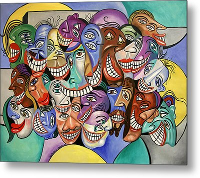 Say Cheese Metal Print by Anthony Falbo