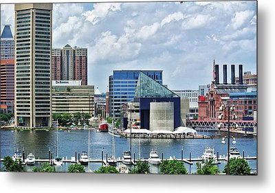 Scene From Federal Hill In June Metal Print by Toni Martsoukos