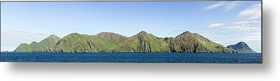 Scenic View Of Barren Islands Metal Print by Panoramic Images