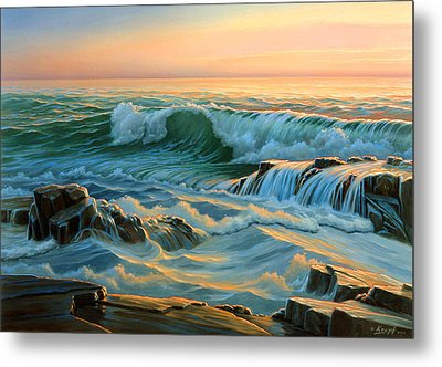 Schoodic Point Before Sunrise  Metal Print by Paul Krapf