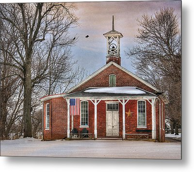 School Days Metal Print by Lori Deiter