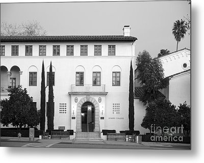Scripps College Metal Print by University Icons