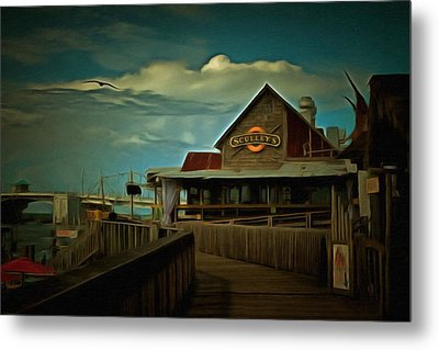 Sculley's Metal Print by L Wright