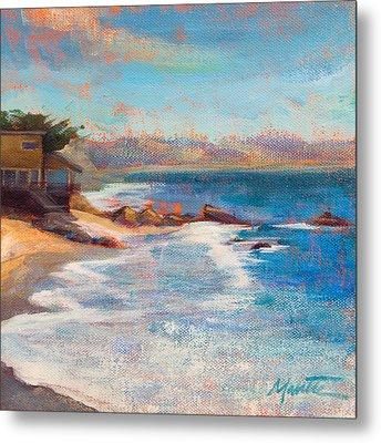 Sea Breeze Metal Print by Athena  Mantle