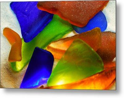 Sea Glass II Metal Print by Sherry Allen