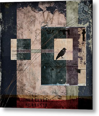 Sea Level Metal Print by Carol Leigh