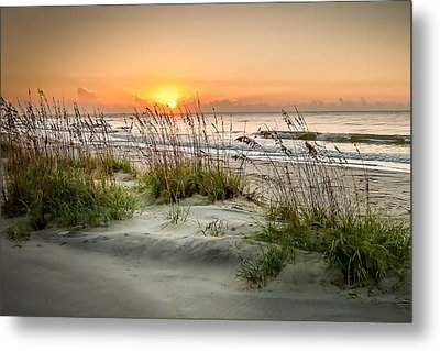 Sea Oat Islands Metal Print by Steve DuPree