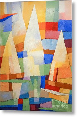 Sea Of Colors Metal Print by Lutz Baar