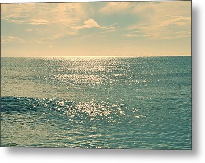Sea Of Tranquility Metal Print by Laura Fasulo