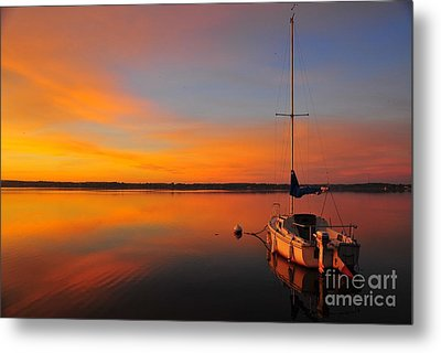 Sea Of Tranquility Metal Print by Terri Gostola