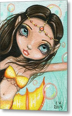 Sea Princess Marisol Metal Print by Elaina  Wagner