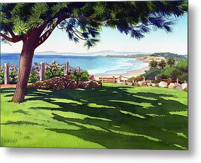 Seagrove Park Del Mar Metal Print by Mary Helmreich