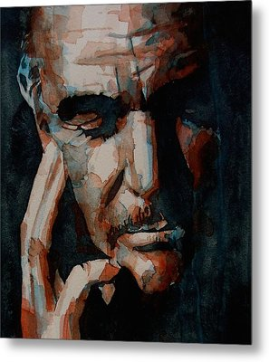 Sean Connery  Metal Print by Paul Lovering