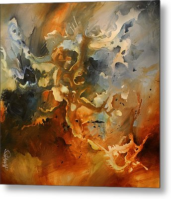 'searching For Chaos' Metal Print by Michael Lang