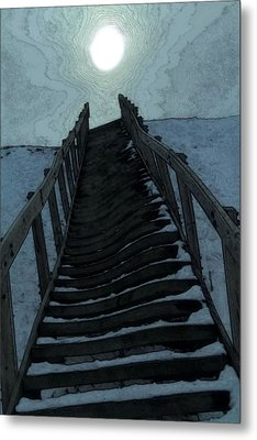 Searching For The Light Metal Print by Dan Sproul