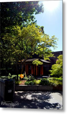 Seattle Japanese Garden Metal Print by Guinapora Graphics
