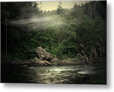 Seclusion On The Trinity Metal Print by Joyce Dickens