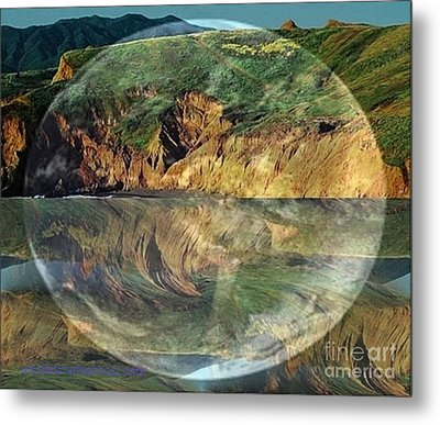 Second Nature Metal Print by PainterArtist FIN