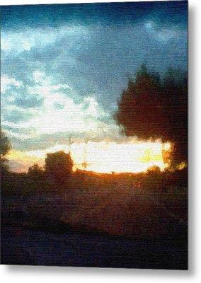 Second Sunset Metal Print by Pharris Art