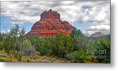Sedona Arizona Bell Rock Metal Print by Gregory Dyer