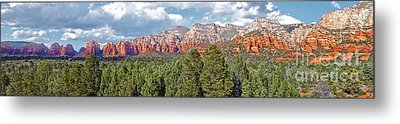 Sedona Arizona Panorama - 02 Metal Print by Gregory Dyer
