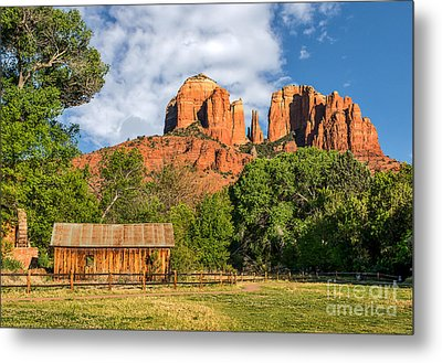 Sedona Landmark  Metal Print by Tod and Cynthia Grubbs
