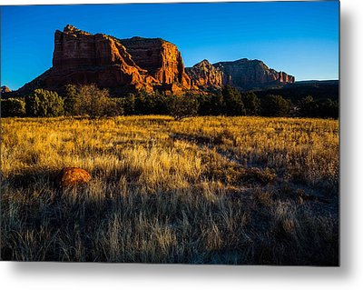 Sedona Light Metal Print by Bill Cantey