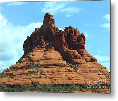 Sedona's Red Rock Metal Print by French Toast