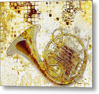 See The Sound Metal Print by Jack Zulli