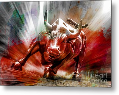 Seeing Red Metal Print by Az Jackson