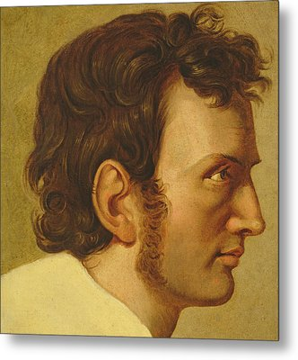 Self Portrait Metal Print by Philipp Otto Runge