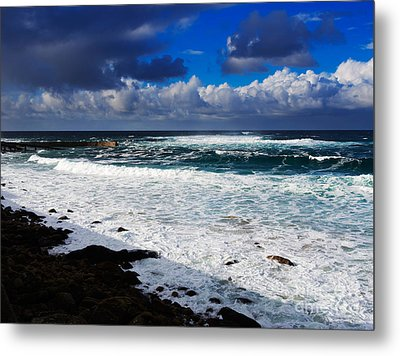 Sennen Cove In Cornwall Metal Print by Louise Heusinkveld