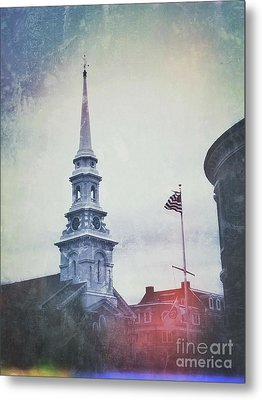 Separation Of Church And State Metal Print by John Adams