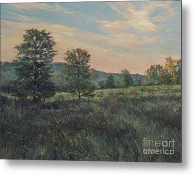 September Meadow Metal Print by Gregory Arnett