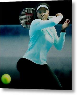 Serena Williams Proud Curves Metal Print by Brian Reaves