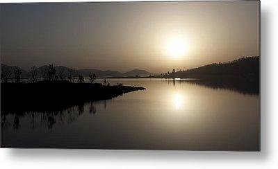 Serene Sunrise Metal Print by Vinod Chauhan