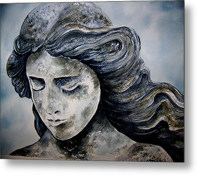 Set In Stone Metal Print by Brenda Owen