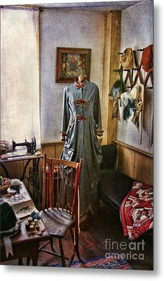 Sewing Room 1 Metal Print by Cindi Ressler