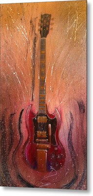SG Metal Print by Andrew King