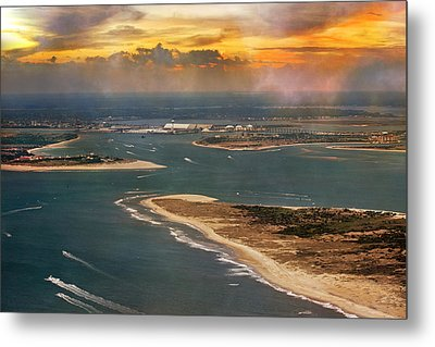 Shackleford Banks Fort Macon North Carolina Metal Print by Betsy Knapp