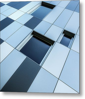 Shades Of Blue Metal Print by Luc Vangindertael