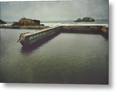 Shades Of What Used To Be Metal Print by Laurie Search