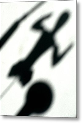 Shadow Art Metal Print by Godfrey McDonnell