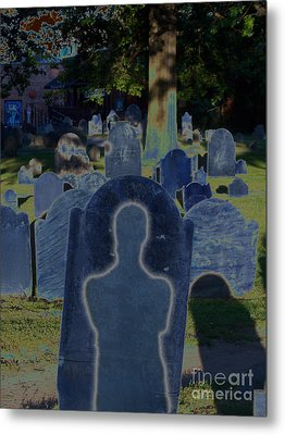 Shadow Grave  Metal Print by First Star Art