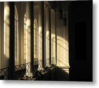 Shadows Of Light Metal Print by Laura Watts