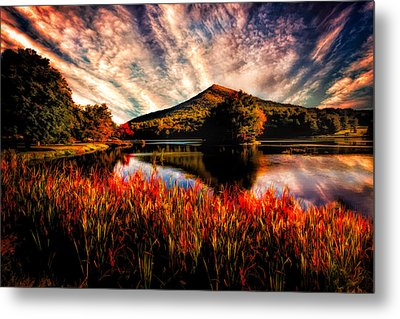 Sharp Top Metal Print by Joshua Minso