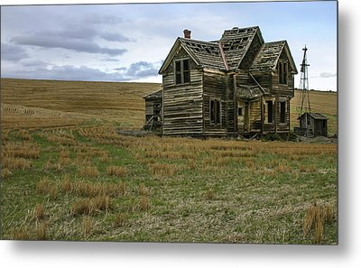 She Didnt Like The Country Metal Print by Jean Noren