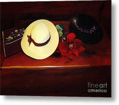 She Loved Hats Metal Print by RC DeWinter