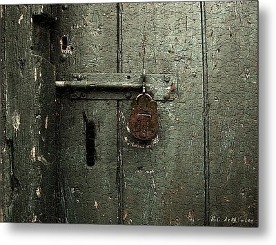 Shed Of Secrets Metal Print by RC deWinter