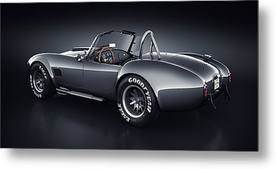 Shelby Cobra 427 - Venom Metal Print by Marc Orphanos